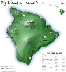 map of hawaii big island big island of hawaii maps