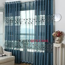 Blue Sheer Curtain Navy Blue Sheer Curtains Curtains Ideas