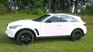 infiniti jeep 2016 2015 infiniti qx70 crossover pampers with luxury surprises with