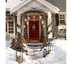 Exterior Christmas Decorations Christmas Outdoor Decorations Backyard Landscape Design