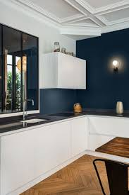 cuisine appartement déco salon rénovation appartement haussmanien avec création de la