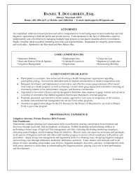 General Resume Objective Sample by Sample Resume Attorney General