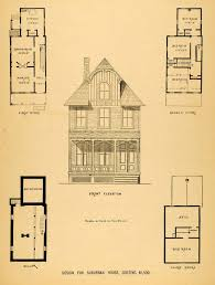 Victorian Floor Plan by Architecture Tagged