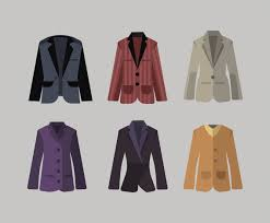 design style blazer vector in flat design style vector art u0026 graphics