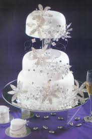 wedding cake edinburgh iridescent flower silver and pearl iridescent flower cake decorations
