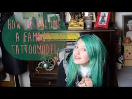 how to become a famous tattoomodel victoria van violence youtube