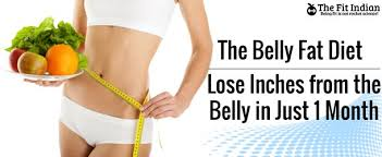 30 days belly fat diet for inch loss and slim waist line