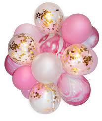 balloon bouquet 20pcs lot 12 confetti balloon bouquet for baby shower birthday