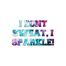 i don t sweat i sparkle i don t sweat i sparkle water bottle fliptricks uk cheer shop