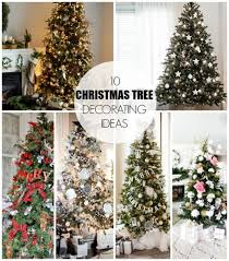 10 christmas tree decorating ideas dream book design