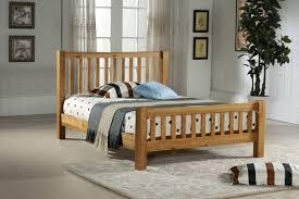 King Size Oak Bed Frame by Time Living Denver 5ft Kingsize Oak Bed Frame By Time Living