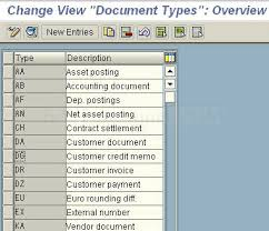 sap document types table invoice types in sap how to define document types in sap fico