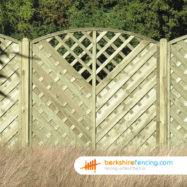 Arch Trellis Fence Panels Fence Panels Berkshire Fencing