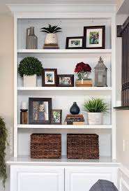 bookshelf decorations how to decorate shelves in the living room leola tips
