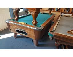 used valley pool table used pool tables crosby pool tables