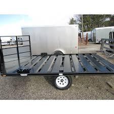 adams snowmobile trailer