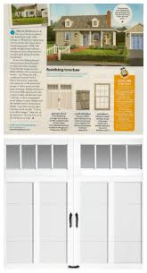18 best garage door design ideas images on pinterest door design this old house editors pretty up a not so cute cottage in the august 2013 issue with a new clopay coachman collection carriage house garage door design