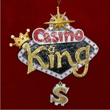 casino king personalized ornaments by