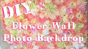 photo booth backdrop diy flower wall photo booth backdrop