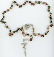 free rosaries fancy jasper rosary heirloom rosaries