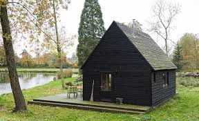 built on a budget this belgian cabin is straight out of a