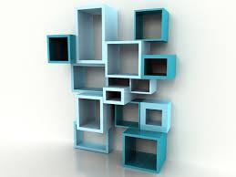 creative shelving interior designs creative shelving simple blue design creative