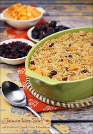 healthy thanksgiving stuffing jasmine rice stuffing with butternut squash dates u0026 cranberries