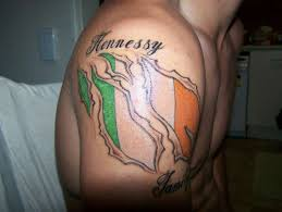 crazy tattoo irish tattoo design 2012 new