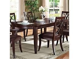 acme furniture keenan 60255 formal transitional dining table del