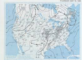 Surface Map May 18 1995 Tornadoes