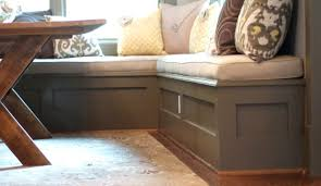 bench delicate diy dining storage bench surprising captivating