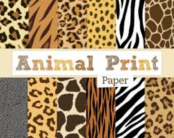 zebra print wrapping paper leopard print etsy