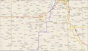 Nebraska Map Map Of Southeast Nebraska Afputra Com