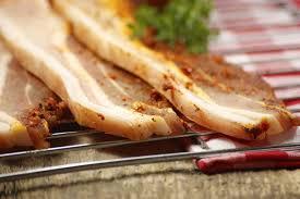 cuisiner poitrine de porc recette poitrine de porc aux agrumes