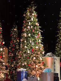 slim christmas trees spruce slim artificial christmas trees balsam hill