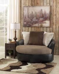 Oversized Accent Chair Oversized Swivel Accent Chair Masoli Mocha Faux Leather Fabric