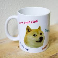 Doge Meme Shiba - wow such doge mug shibe meme coffee mug from chippercheeper on