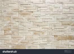 pattern white modern stone brick wall stock photo 60004414