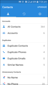 remove duplicate contacts from your android device