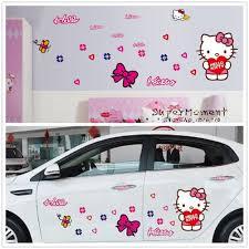 Bedroom For Girls Hello Kitty Online Buy Wholesale Girls Bedroom Wall Decor Hello Kitty From