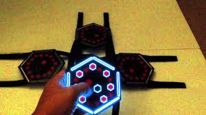 rave lights light up masks futuristic cyborg led masks