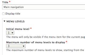 theme drupal menu block how to set up dropdown menus in drupal 8