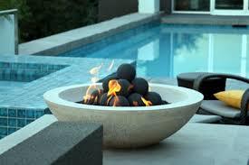 Firepit Bowls Custom Pit Conversion To Fireglass Exsisting Pit