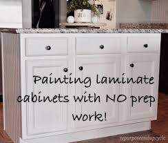 how to prep cabinets for painting painting laminate cabinets the right way without sanding