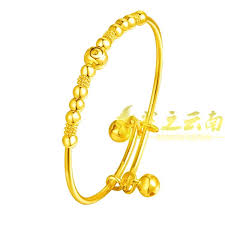 child bangle bracelet images Gold plated 24k gold plated bangle bracelet gold bracelet wedding jpg