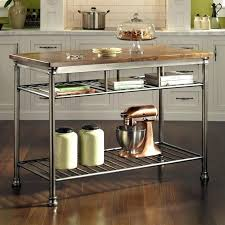 kitchen island stainless steel metal top kitchen island meetmargo co