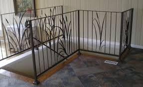 Decorative Wrought Iron Railings Wrought Iron Railings With A Metal Garden Gates With A Wrought