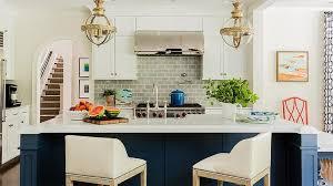 Blue Kitchen Island Navy Blue Kitchen Island With Crown Top Banded Globe