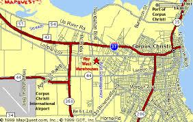map of corpus christi location