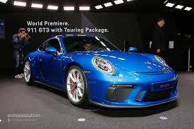 black porsche 911 gt3 2018 porsche 911 gt3 touring package looks bewitching in black